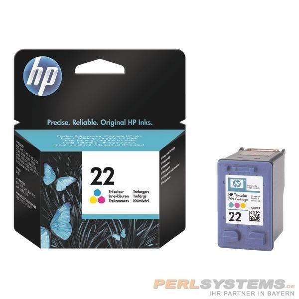 HP 22 Tintenpatrone Tri-color D3910 D1420 No.22