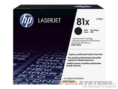 HP 81X High Yield Black Toner LJ Enterprise MFP M630