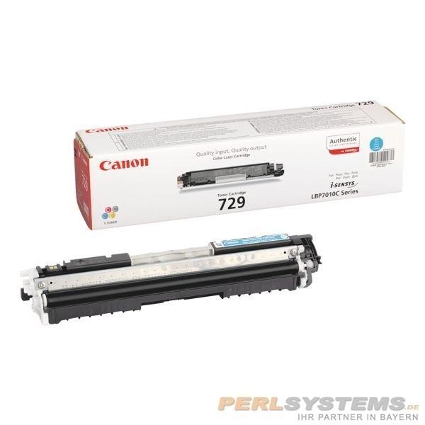 Canon 729 Toner Cartridge Cyan LBP-7010C 7018 7810C 4369B002