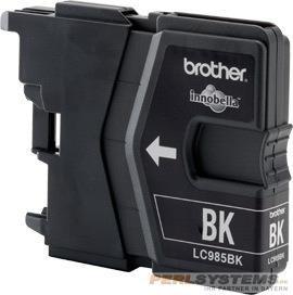 Brother Tintenpatrone Schwarz LC985BK DCP-J125 DCP-J140 DCP-J315
