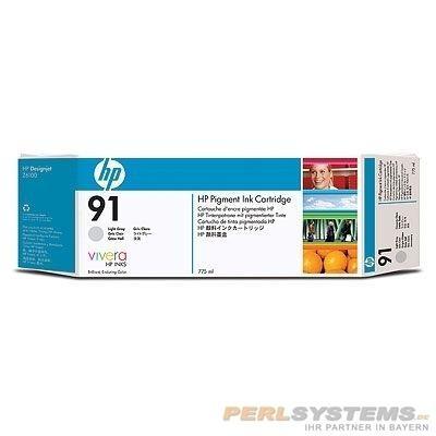HP 91 Tinte Grau hell für DesignJet Z6100