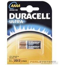 Duracell (MX2500) Ultra Batterie Alkali LR61 (AAAA) 2er Blister