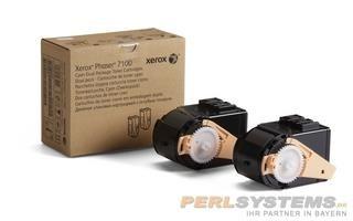 Xerox Toner cyan für Phaser 7100 PH7100 Doppelpack