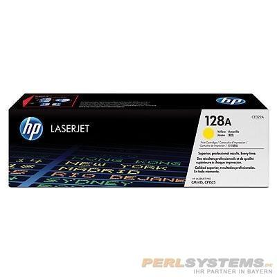 HP 128A Toner Yellow für Color LaserJet CP1525 CM1415