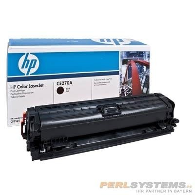 HP 650A Toner Black für Color LaserJet CP5525