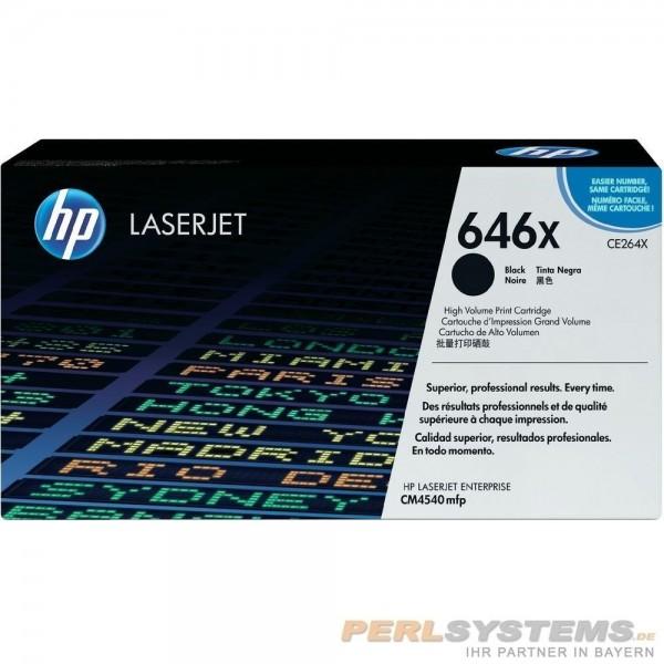 HP 646X Toner Black für Color LaserJet CM4540 CM4540F