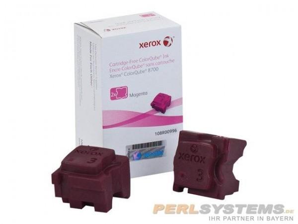 XEROX ColorQube 8700 Festtinte STIX 2 Magenta Solid Ink