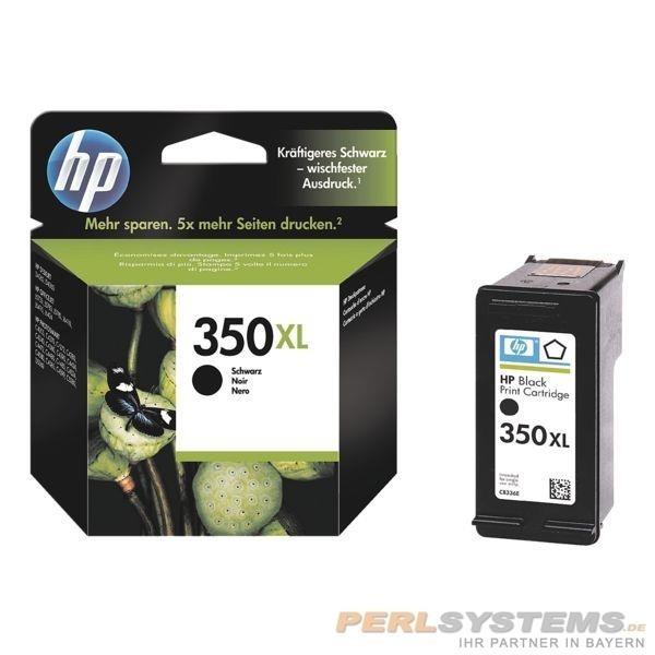 HP 350XL Tinte Black für Deskjet 5740 6540