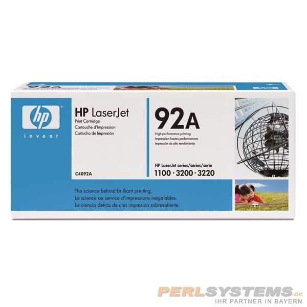 HP 92A Druckkassette Schwarz für LaserJet 1100 3200