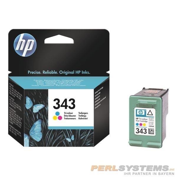 HP 343 Farbdruckpatrone für Photosmart 2575 Photosmart C1510