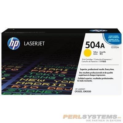 HP 504A Toner Yellow für Color LaserJet CP3525 CM3530