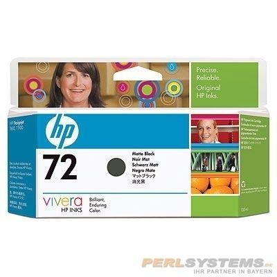 HP 72 Tinte schwarz matt für DesignJet T1200