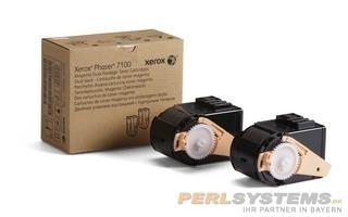 Xerox Toner magenta für Phaser 7100 PH7100 Dopplepack