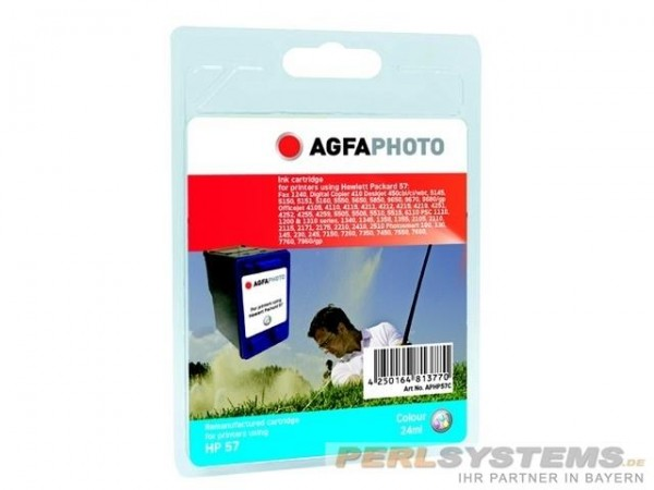 AGFAPHOTO HP57 Tinte DJ5550 Tinte Color APHP57C