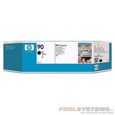 HP 90 Tinte Schwarz 3er Pack für DesignJet 4000 4500 4020 4520