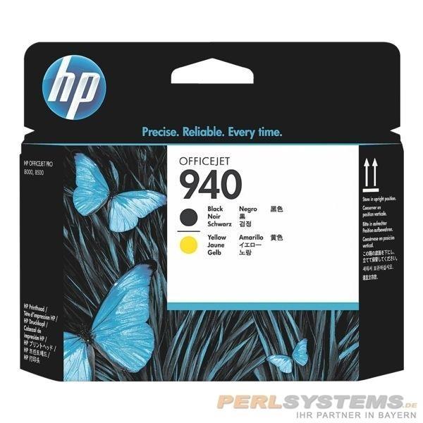 HP 940 Druckkopf Yellow + Black für OfficeJet Pro 8000