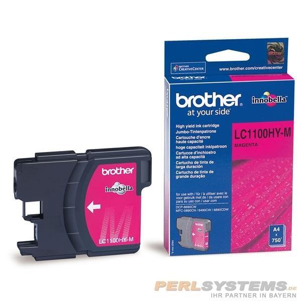 Brother Tintenpatrone Magenta LC1100HYM MFC-6890CDW MFC-5890CN