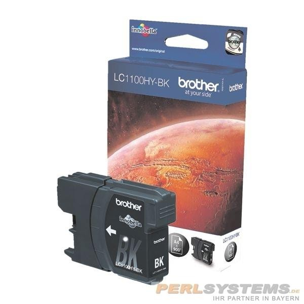 Brother Tintenpatrone Black LC1100HYBK MFC-6890CDW MFC-5890CN