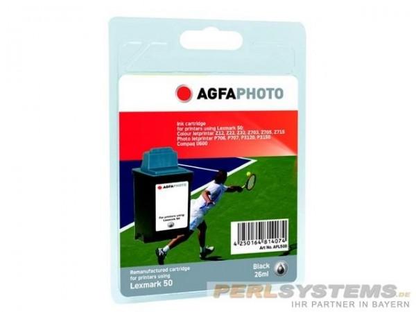 AGFAPHOTO L50B Lexmark Z12 Tinte Black
