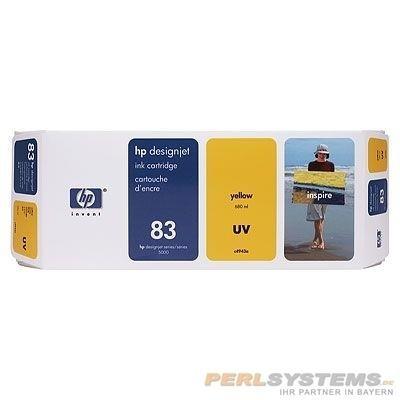 HP 83 Tinte Gelb UV No.83 DSJ5000