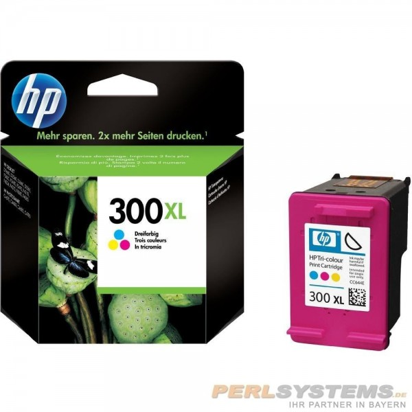 HP 300XL Tinte Tri-Color No.300 XL mit Vivera Tinte