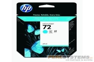 HP 72 Tinte Cyan für DesignJet T1200 T1300 T2300 T610