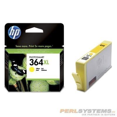 HP 364XL Tintenpatrone Yellow für 3070 OJ4610 C5300