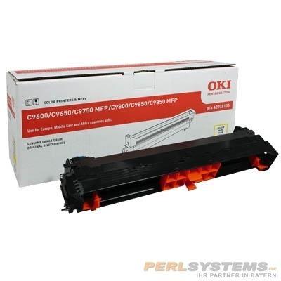 OKI Trommel Yellow C9600 C9650 C9800 C9850 C9655