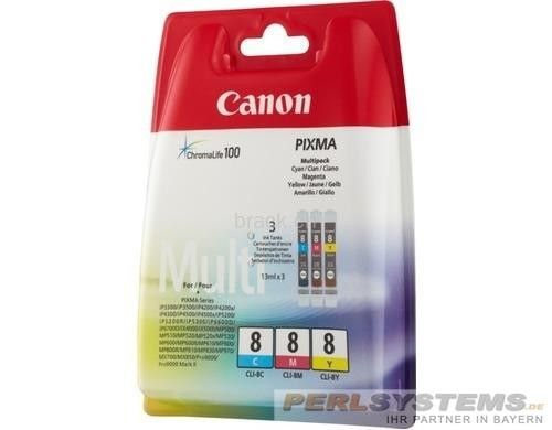 Canon Tinte CLI-8 Multipack iP4200 iP4500 iP5200 MP500