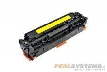TP Premium Toner Yellow ersetzt HP CC532A für Color LaserJet CP2025 CM2320