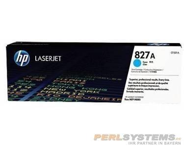 HP 827A Toner Cyan für Color LaserJet Enterprise Flow M880
