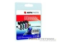 AGFAPHOTO B1000SET Brother DCP-130C Tinte BK/Y/C/M