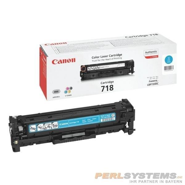 Canon Cartridge 718 Cyan 2661B002 LBP7200 MF8350