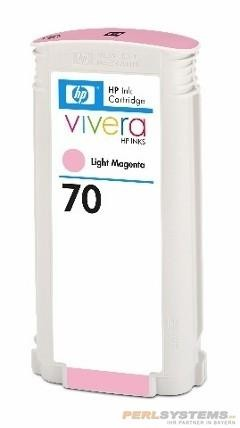 HP 70 Tinte light magenta No.70 mit HP Vivera Tinte