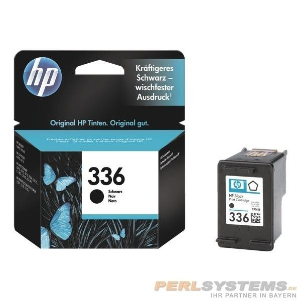 HP 336 Druckpatrone Black No.336 für Photosmart 2575 Deskjet 5440 Photosmart C1510