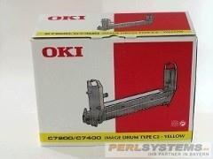 OKI Bildtrommel Yellow C7000 7200N/DN 7400