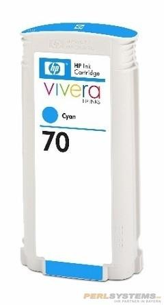 HP 70 Tinte cyan No.70 mit HP Vivera Tinte