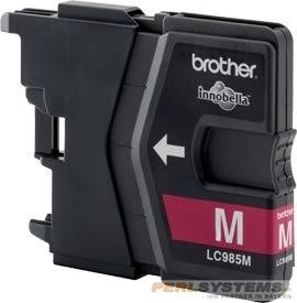 Brother Tintenpatrone Magenta LC985C DCP-J125 DCP-J140 DCP-J315