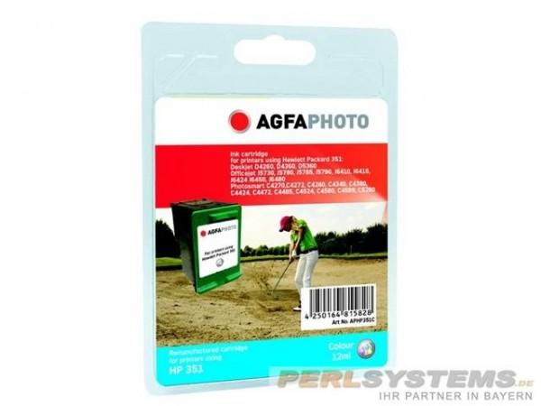 AGFAPHOTO HP351C HP OJ5780 Tinte Color