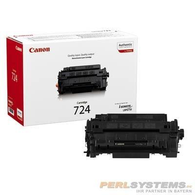 Canon 724 Cartridge Black LBP67500 I-SENSYS LBP6750DN