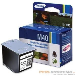 Samsung Tintenkartusche Ink-M40 schwarz