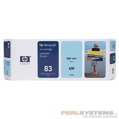 HP 83 Tinte Cyan Hell UV No.83 DSJ5000