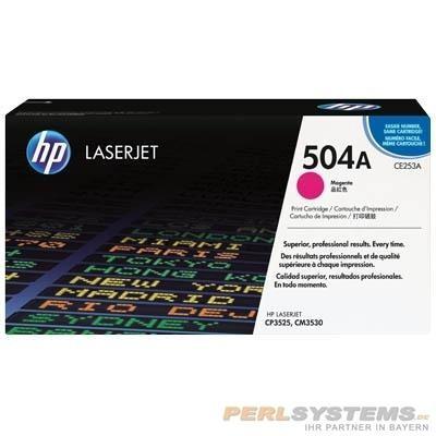 HP 504A Toner Magenta für Color LaserJet CP3525 CM3530