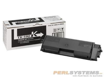 Kyocera Toner Black TK-590K für FSC2016MFP FSC2026MFP FSC2126MFP FSC5250DN