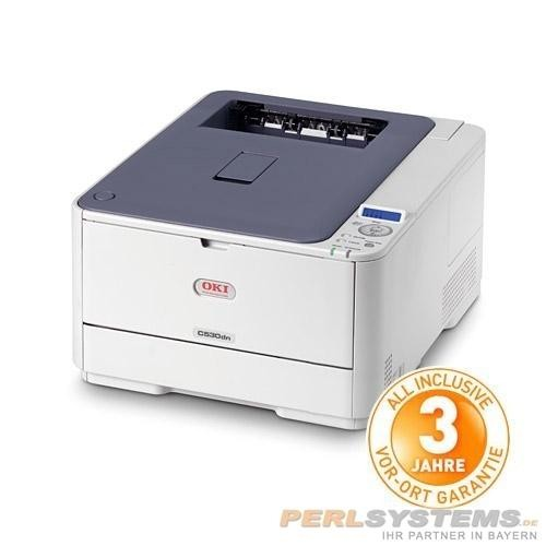 OKI C530DN A4 - 256MB - 26/30 Seiten - LAN