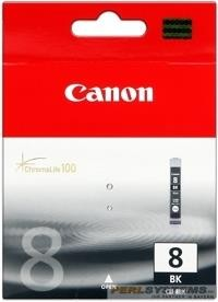 Canon Tinte Black CLI-8BK iP4200 iP4500 iP5200 MP500