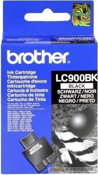 Brother Tintenpatrone Schwarz LC900BK MFG-3240 5440CN C5840 Fax 1835C 1840