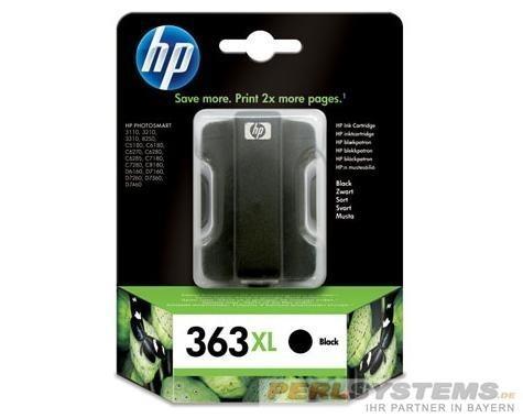 HP 363XL Tintenpatrone black PS8250