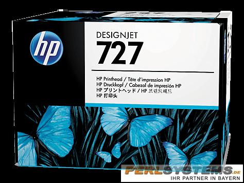 HP 727 Druckkopf Schwarz und Farbe für DesignJet T920 T1500 T2500