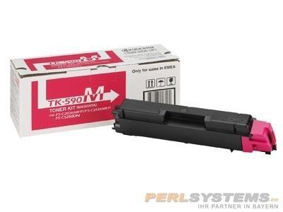 Kyocera Toner Magenta TK-590M für FSC2016MFP FSC2026MFP FSC2126MFP FSC5250DN